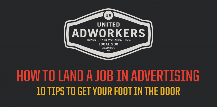 10 tips to get an advertising job